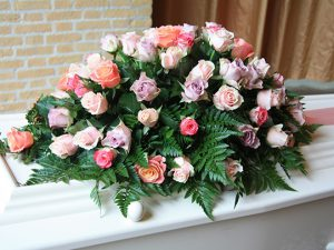 Funeral Floral Tribute